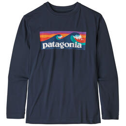 Patagonia Boy's Capilene® Cool Daily Long Sleeve Shirt