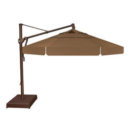 Treasure Garden 11' AKZ Cantilever Umbrella - Toffee