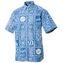Reyn Spooner Men's Los Angeles Dodgers Lahaina II Button Front Shirt