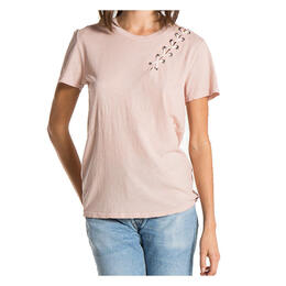 N:Philanthropy Women's Gaia Lacing Short Sleeve T Shirt