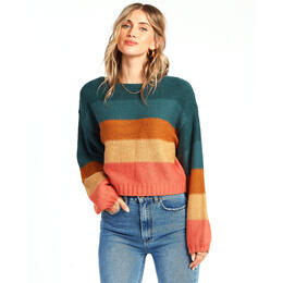 Billabong Women's Seeing Stripes Sweater