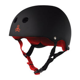 Triple Eight Brainsaver With Sweatsaver Liner Skate Helmet