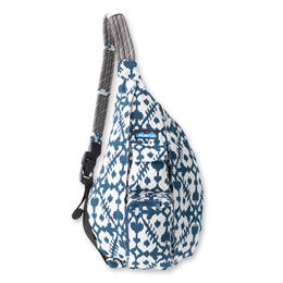 Kavu Women's Rope Bag Backpack Blue Blots