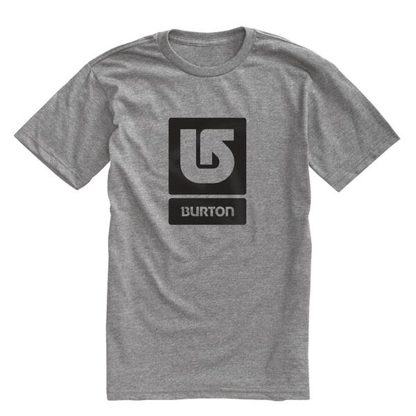 Burton Men's Logo Vertical Fill Short Sleeve T-shirt
