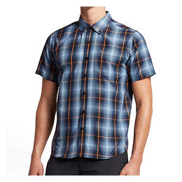 Hurley Men's Dri-Fit Steinbeck Short Sleeve Button Up Shirt