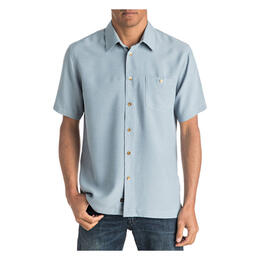 Quiksilver Men's Waterman Marlin Short Sleeve Shirt