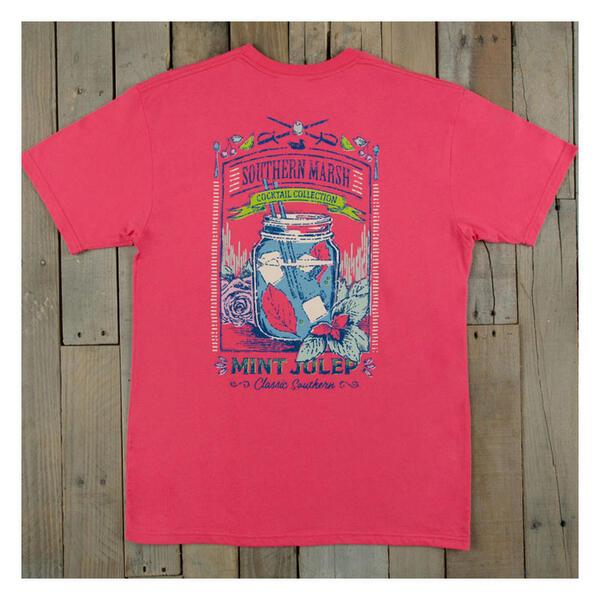 Southern Marsh Women 39 S Mint Julep Short Sleeve Tee Shirt