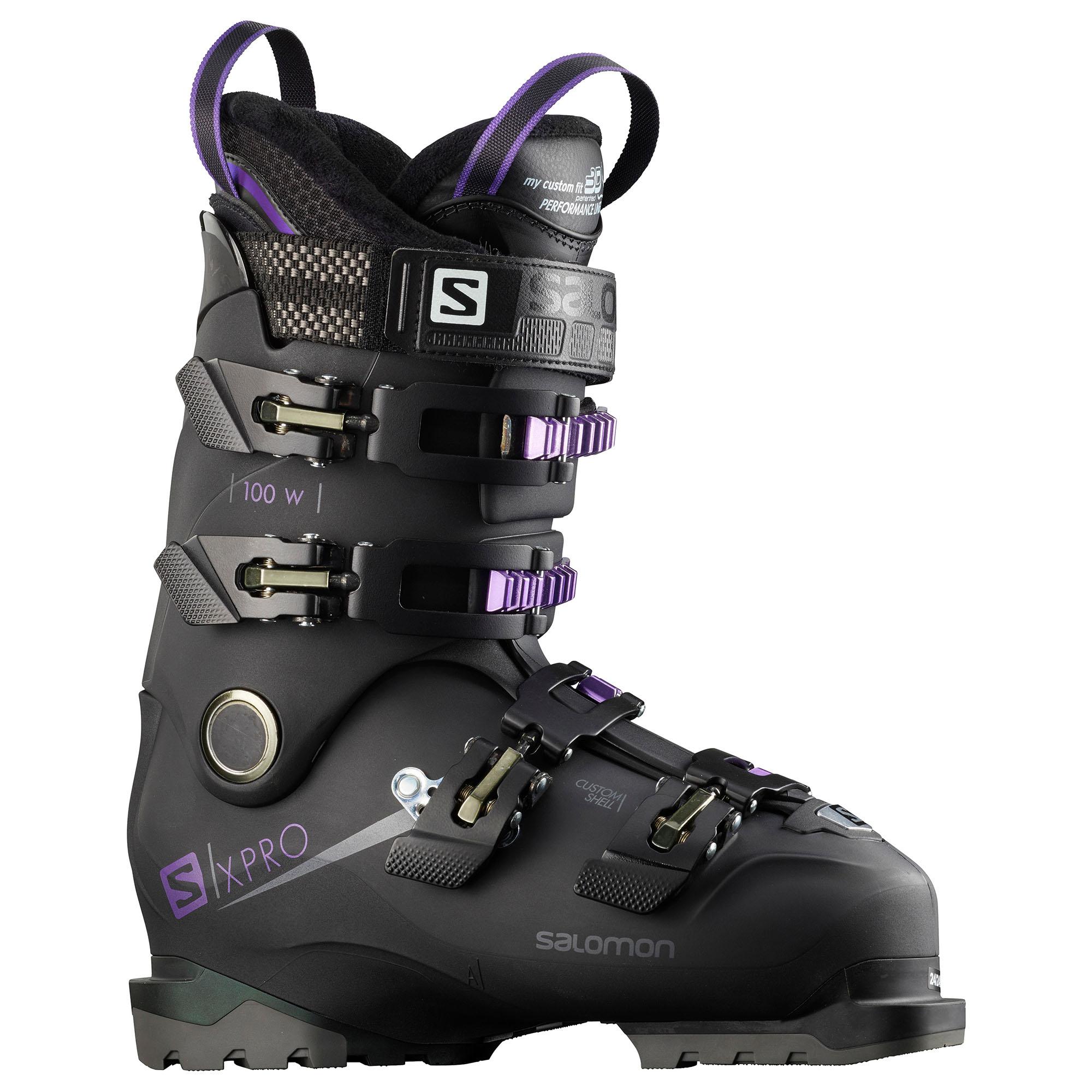 Salomon Women's X/pro 100 Ski Boots '19 -  00889645658131