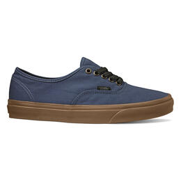Vans Men's Authentic Dark Denim Shoes