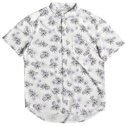 Quiksilver Men's Fluid Geometric Short Sleeve Shirt