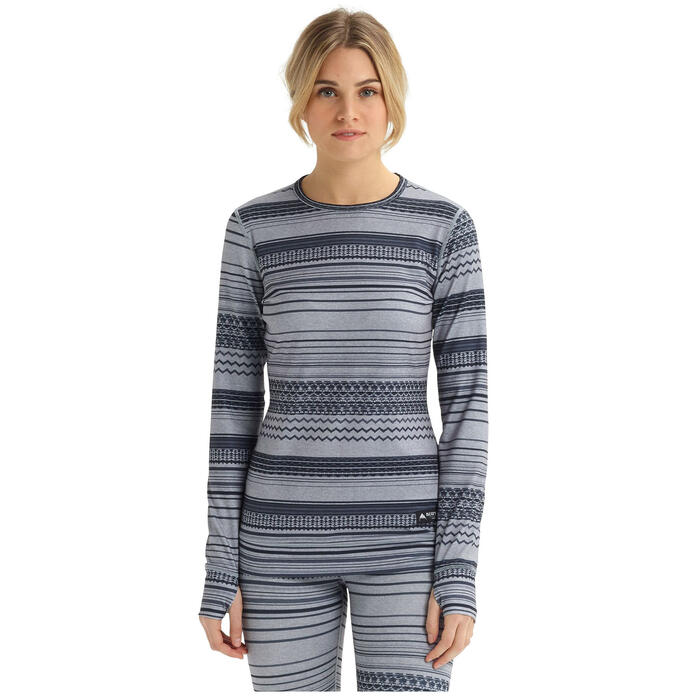 Burton Women's Midweight Base Layer Crew Top