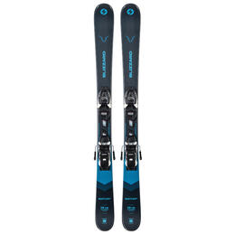 Blizzard Boy's Rustler Twin Jr Skis With Jr 7 Bindings '21