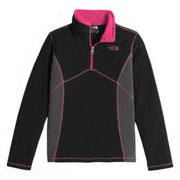 The North Face Girl's Glacier 1/4 Zip Fleece Jacket