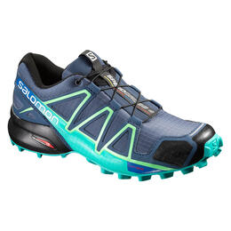 Salomon Women's Speedcross 4 Trail Running Shoes Slate Blue