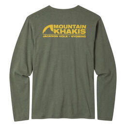 Mountain Khakis Men's Pocket Logo Long Sleeve T Shirt