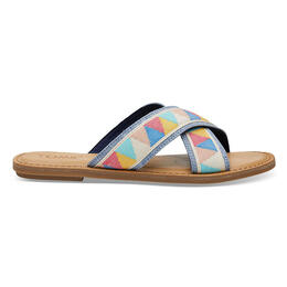 Toms Women's Viv Sandals Multi Patterned