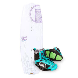 Liquid Force Women's Angel Wakeboard '17 w/ Plush Bindings