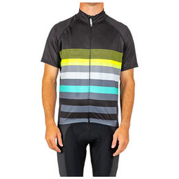 Canari Men's Century Barbour Stripe Cycling Jersey
