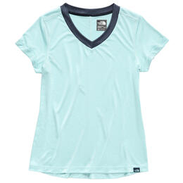 The North Face Women's Hyperlayer Fd Short Sleeve V Neck