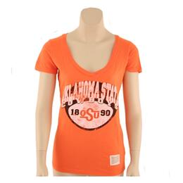 Original Retro Brand Women's Osu Deep V Tee Shirt