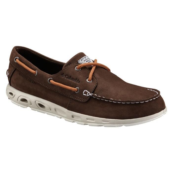 Columbia Men S Bonehead Vent Leather Pfg Boat Shoes Sun
