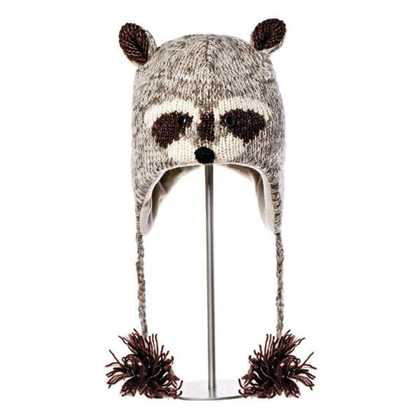 Knitwits Robbie The Racoon Pilot Hat