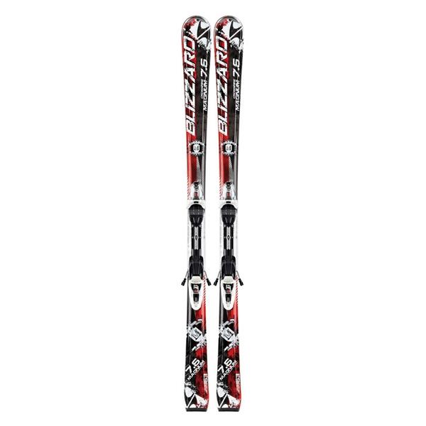 Blizzard Men's Magnum Cross All Mountain Skis with IQ LT 10 Bindings '13