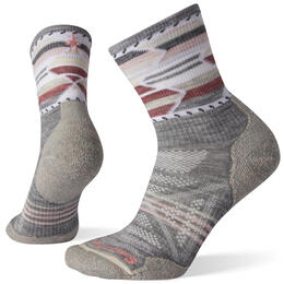 Smartwool Women's PhD® Outdoor Light Pattern Mid Crew Hiking Socks