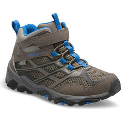 Merrell Boy's Moab Fst Mid A/c Waterproof Hiking Boots