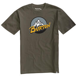 Burton Men's Retro Moiuntain Short Sleeve T Shirt