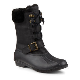 Sperry Women's Saltwater Misty Snow Boots Black