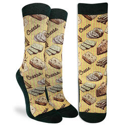Good Luck Socks Women's Cheese Socks