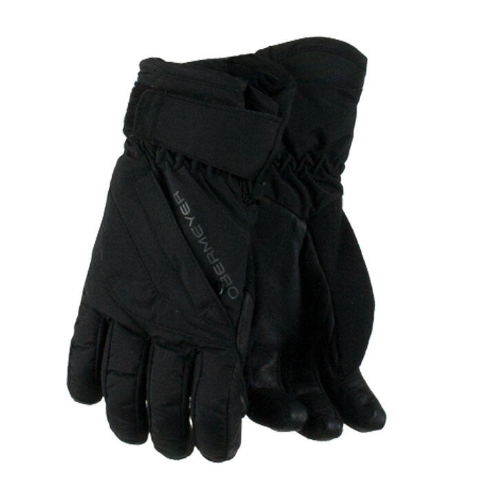 Obermeyer Kid's Cornice Insulated Ski Gloves Black