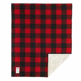Woolrich Sherpa Rough Rider Buffalo Check Wool Blanket (50