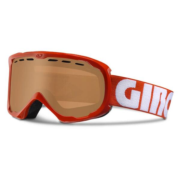 Giro Focus Snow Goggles With Amber Rose Lens