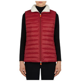 Save The Duck Women's Giga Sherpa Lined Vest