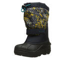 Columbia Youth Powderbug Plus II Printed Winter Boots Green