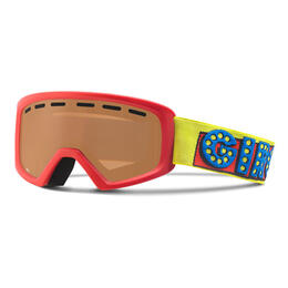 Giro Youth Rev Snow Goggles With Amber Rose Lens