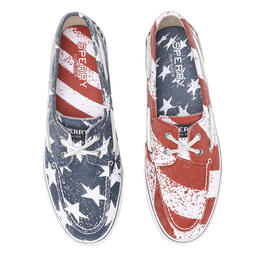 Sperry Men's Bahama Stars And Stripes Casual Shoes