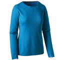 Patagonia Women's Capilene Midweight Baselayer Crew Top Royal Blue