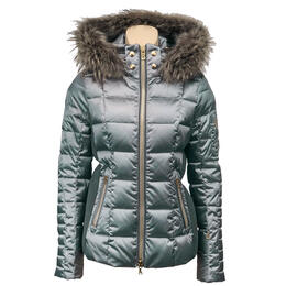 Bogner Women's Uma Down With Fur Trim Jacket