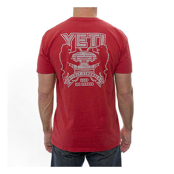 Yeti Coolers Coat Of Arms Short Sleeve T-Sh
