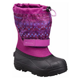 Columbia Youth Powderbug Plus II Printed Winter Boots