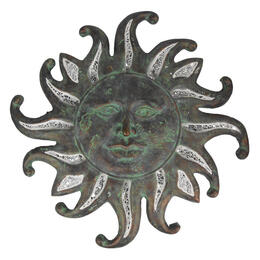 LB International Lighted Sun Wall Art