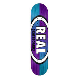 Real Double Dipped Oval 7.75 Skateboard Deck