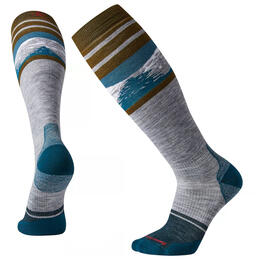 Smartwool Men's PHD Light Elite Pattern Snow Socks