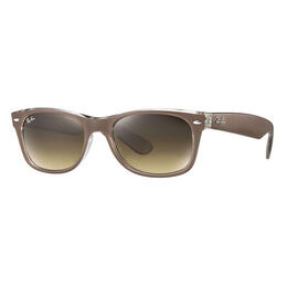 Ray-Ban New Wayfarer New Wayfarer Sunglasses With Brown Gradient Lenses