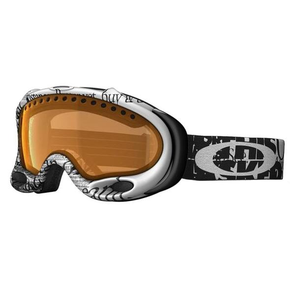 Oakley A Frame Snow Goggles with Persimmon Lens