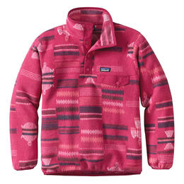 Patagonia Girl's Synchilla Snap-T Pullover - Craft Pink