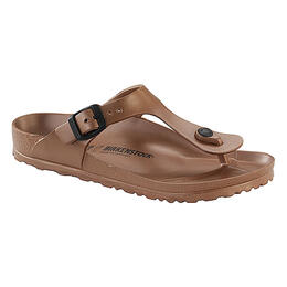 Birkenstock Women's Gizeh Essentials Sandals Metallic Copper
